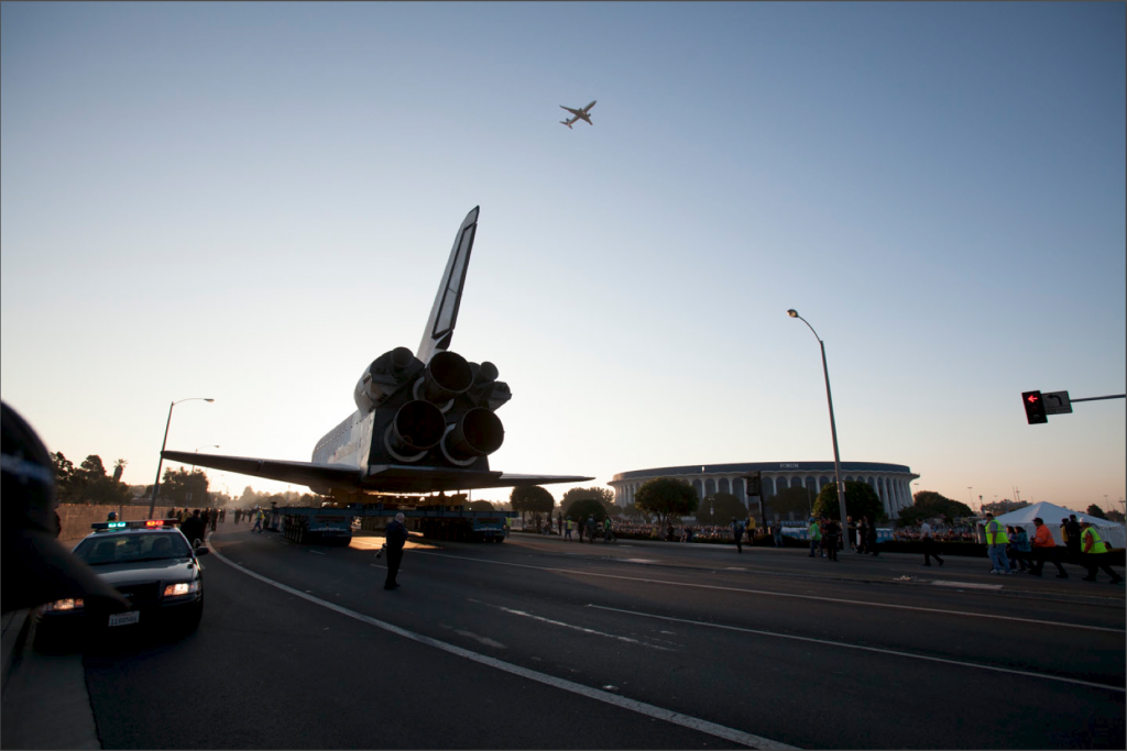 Endeavor out of camera